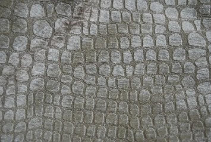 Velvet Crocodile Alligator Snake Skin Texture Velvet Heavy Upholstery Fabric OSRG109