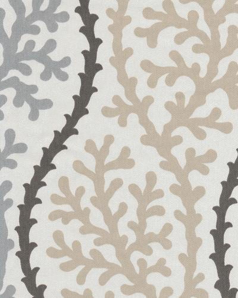 Coral Kelp Ocean Sea Shell Modern Bold Graphic Print Heavy Weight Cotton Fabric Drapery Fabric OSYM924