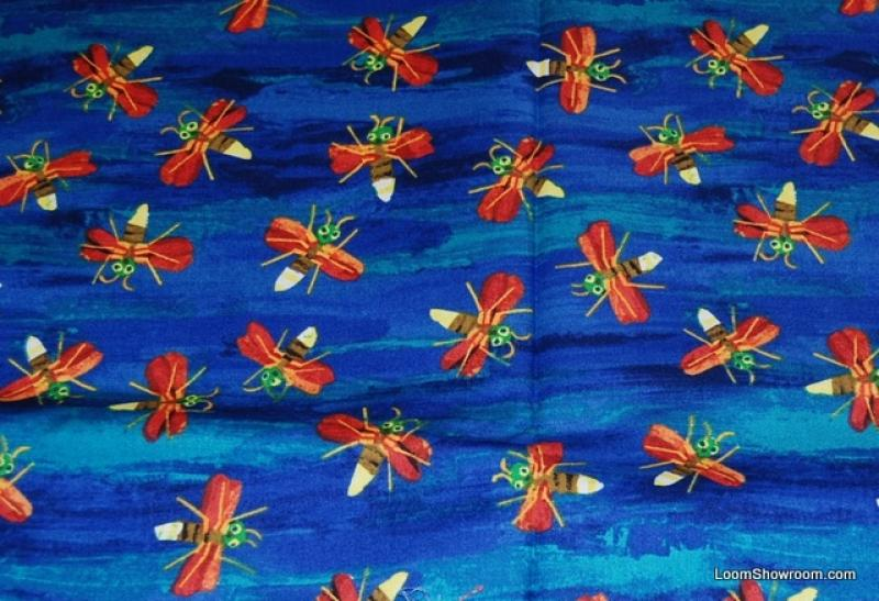 Eric Carle Fire Fly Children's Book Retro Quilt Fabric Cotton Fabric Hungry Caterpillar R184