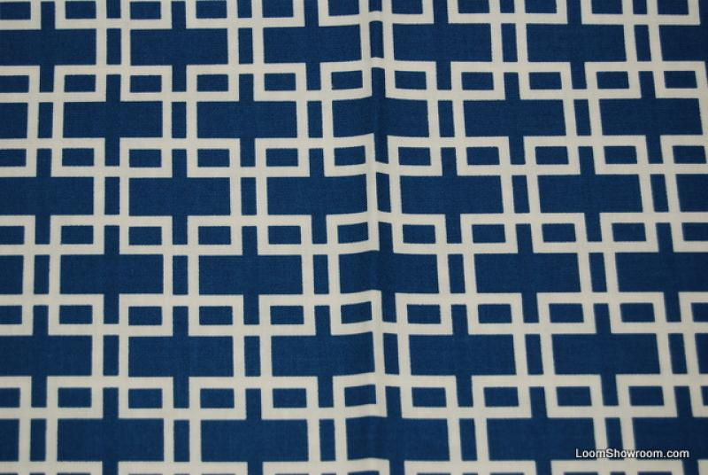 R261 Retro Modern Anna Griffin Darcey Collection White ... : navy blue and white quilt - Adamdwight.com