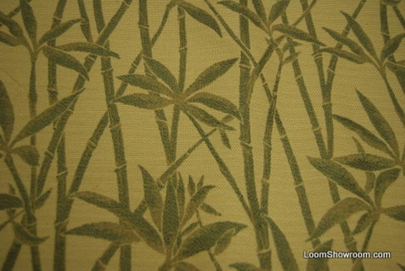 2.125 Yard Clarence House Bamboo Heavy Tapestry Italian made High End Cotton Fabric REM142 Orig Price $425 SALE $30 WHOLE PIECE