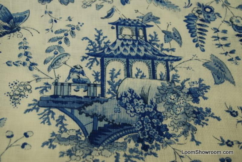 Famous Prints - Toile - Chintz Fabric PJ92