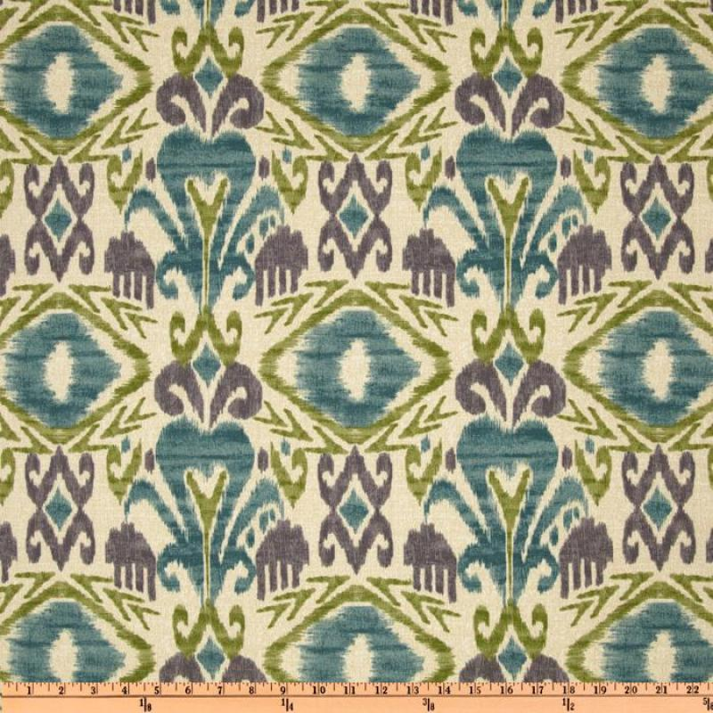 IKAT Tribal Ethnic Chic Indoor and OUTDOOR Sun Safe Famous Maker Outdoor Fabric SRI126 NL071