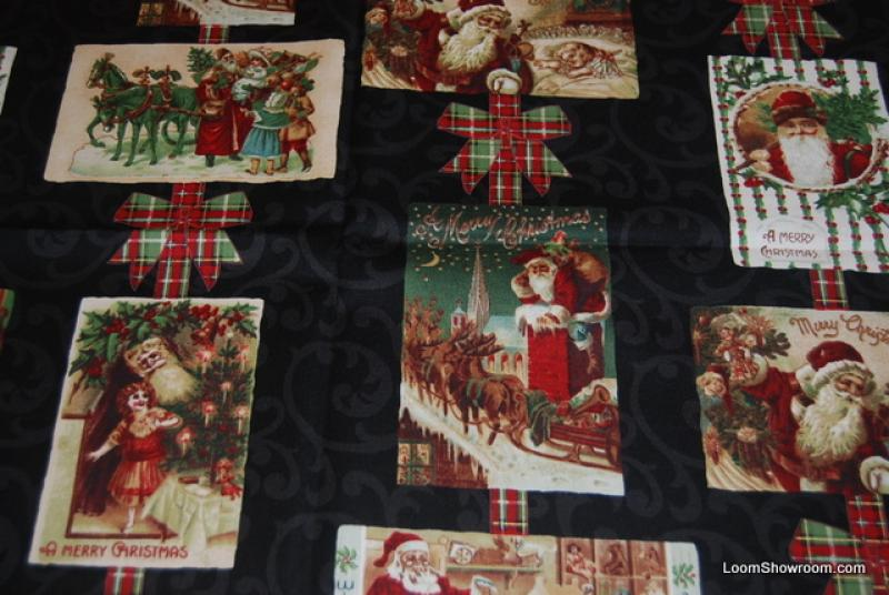 Christmas Victorian Christmas Santa Claus Postcards Merry ... : christmas quilt fabric collections - Adamdwight.com