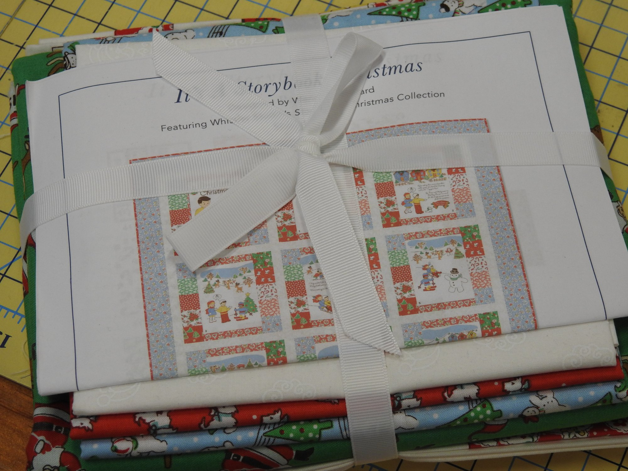 Storybook Christmas Quilt Kit 39x50