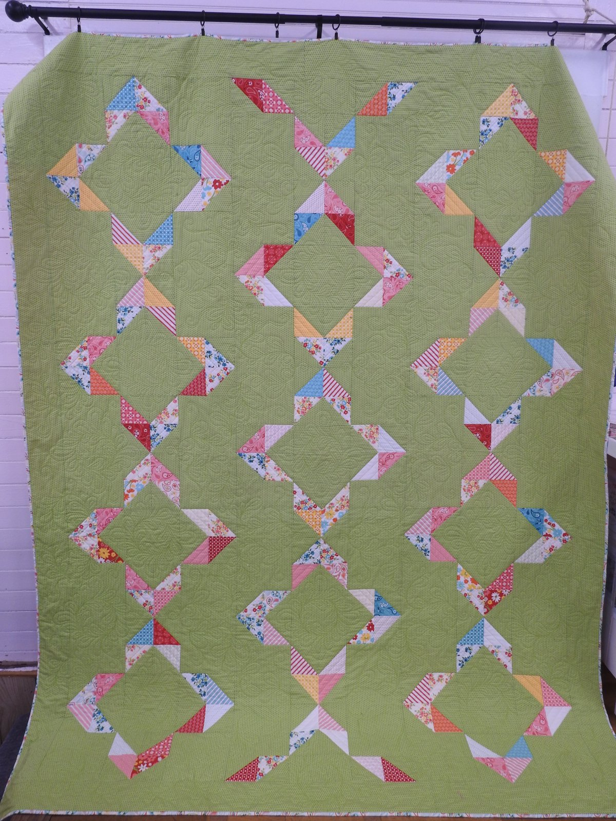 Spring Fling 91 x 105.5