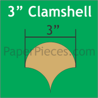 3 Clamshell: Small Pack 30 pieces
