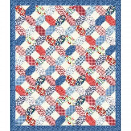 Hi-De-Ho! Picnic Quilt Kit