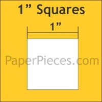 1 Squares: Bulk Pack 1800 Pieces