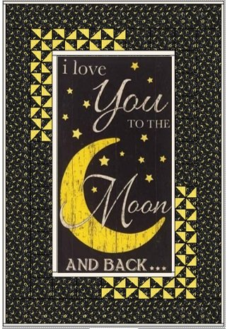 To the Moon and Back Kit (includes binding)