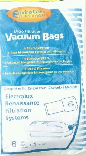 Electrolux Renaissance Vacuum Bags - 6 pack