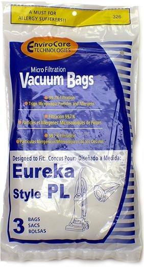 Eureka Style PL Vacuum Bags - 3 pack