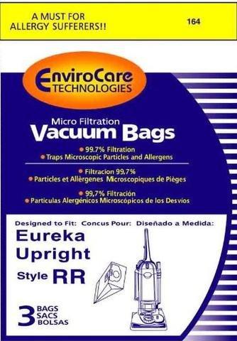 Eureka Type RR Vacuum Bags - 3 pack