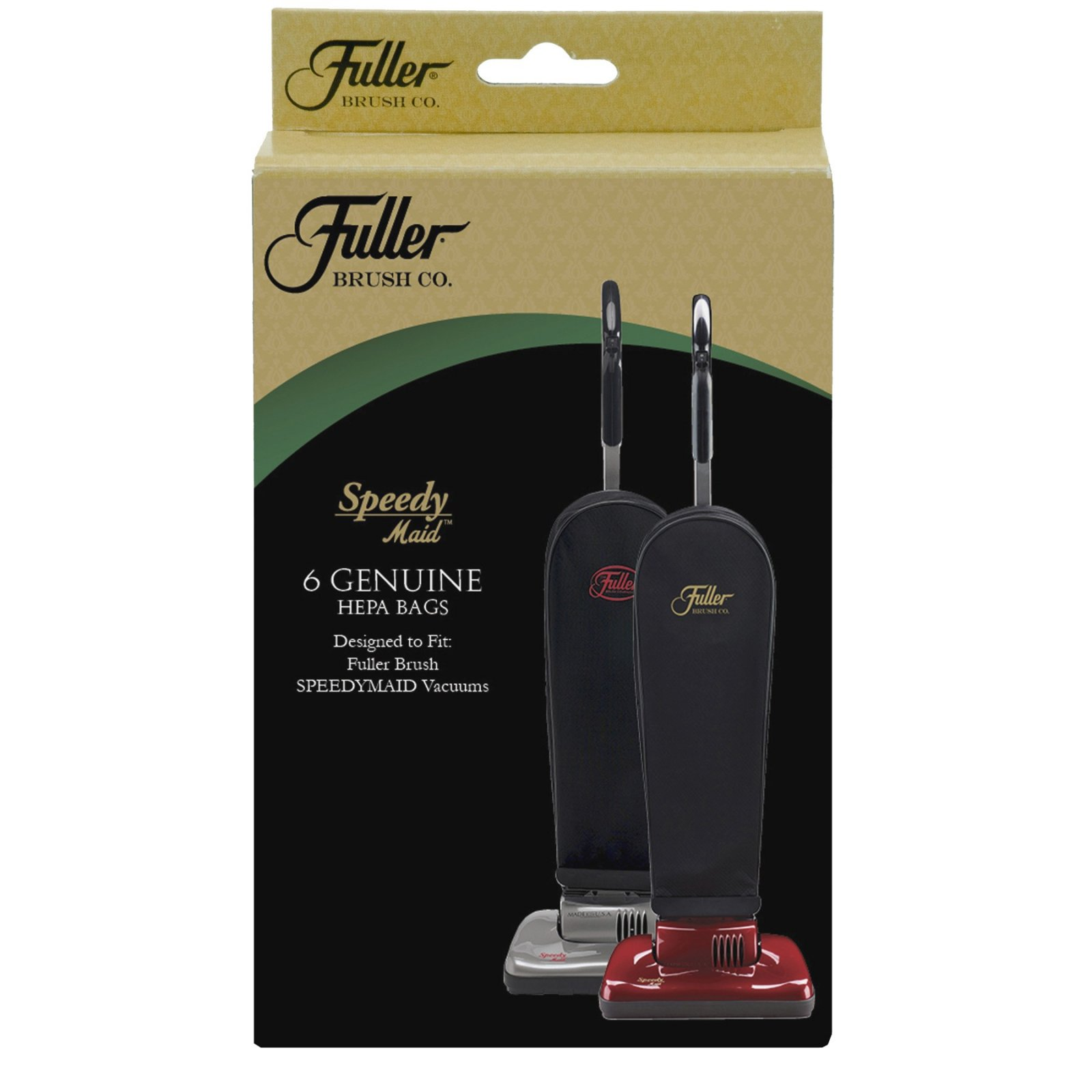 Fuller Brush Speedy Maid HEPA Vacuum Bags - 6 pack