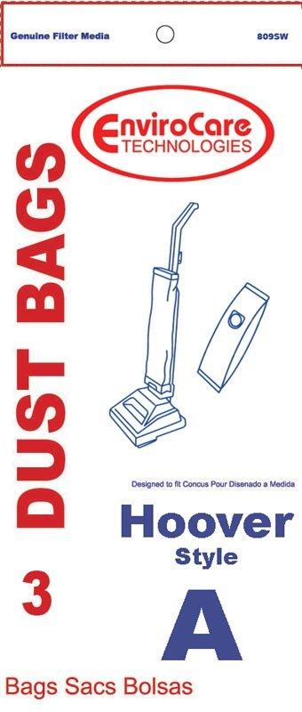 Hoover Type A Vacuum Bags - 3 pack