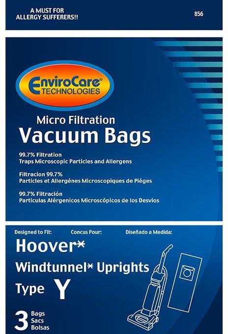 Hoover Type Y Vacuum Bags - 3 pack