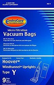 Hoover Type Y Vacuum Bags - 9 pack