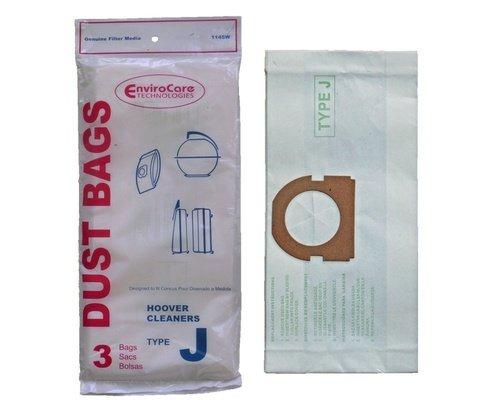 Hoover Type J Vacuum Bags - 3 pack