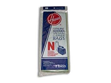 Hoover Type N Vacuum Bags - 3 bags