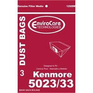 Kenmore Type 5023/33 Vacuum Bags - 3 pack