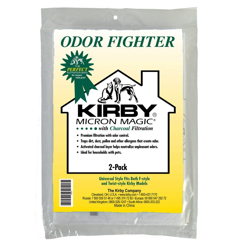 Kirby Activated Charcoal Bags - 2 pack