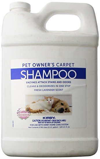 Kirby Pet Owner's Carpet Shampoo - 1 gal.