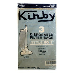 Kirby Style 1 Vacuum Bags - 3 pack