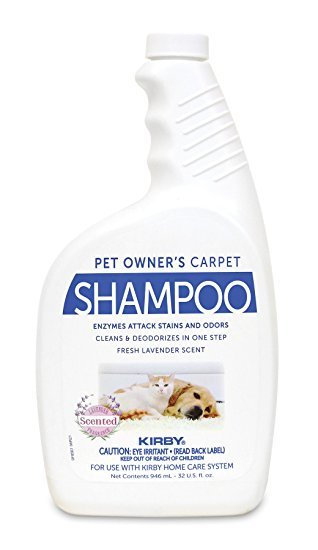 Kirby Pet Owner's Carpet Shampoo - 32 oz.
