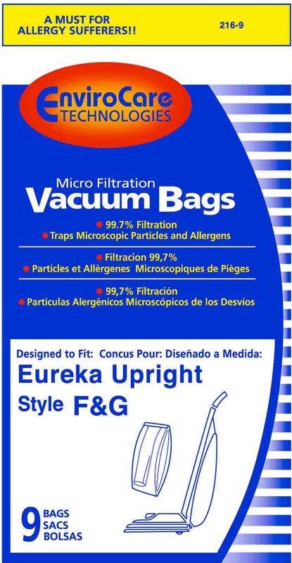Eureka Style F & G Vacuum Bags - 9 pack