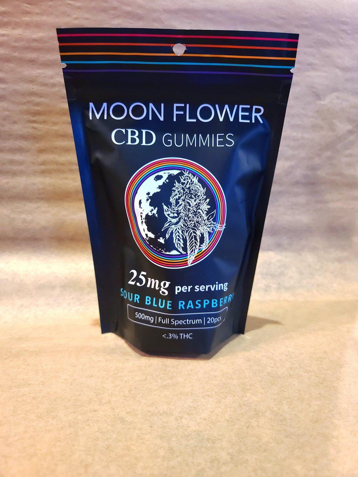 25mg Moonflower CBD Gummies