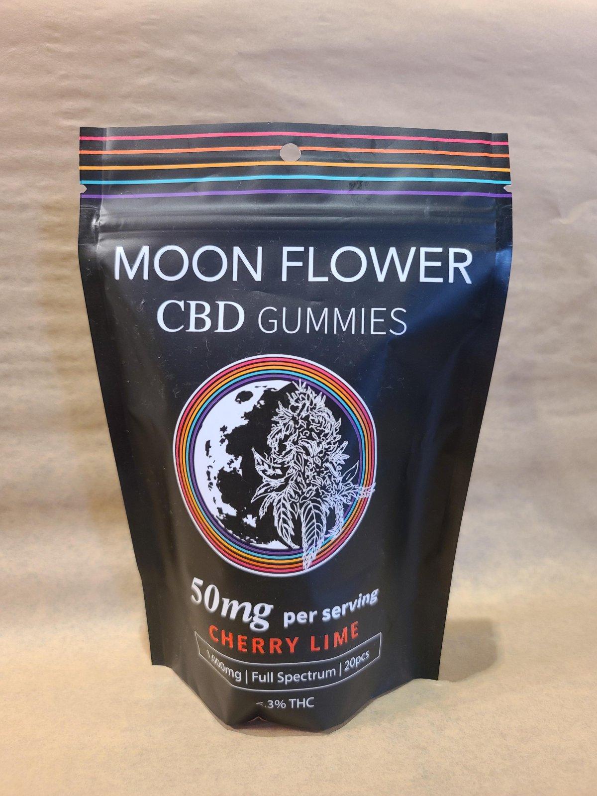 50mg Moonflower CBD Gummies