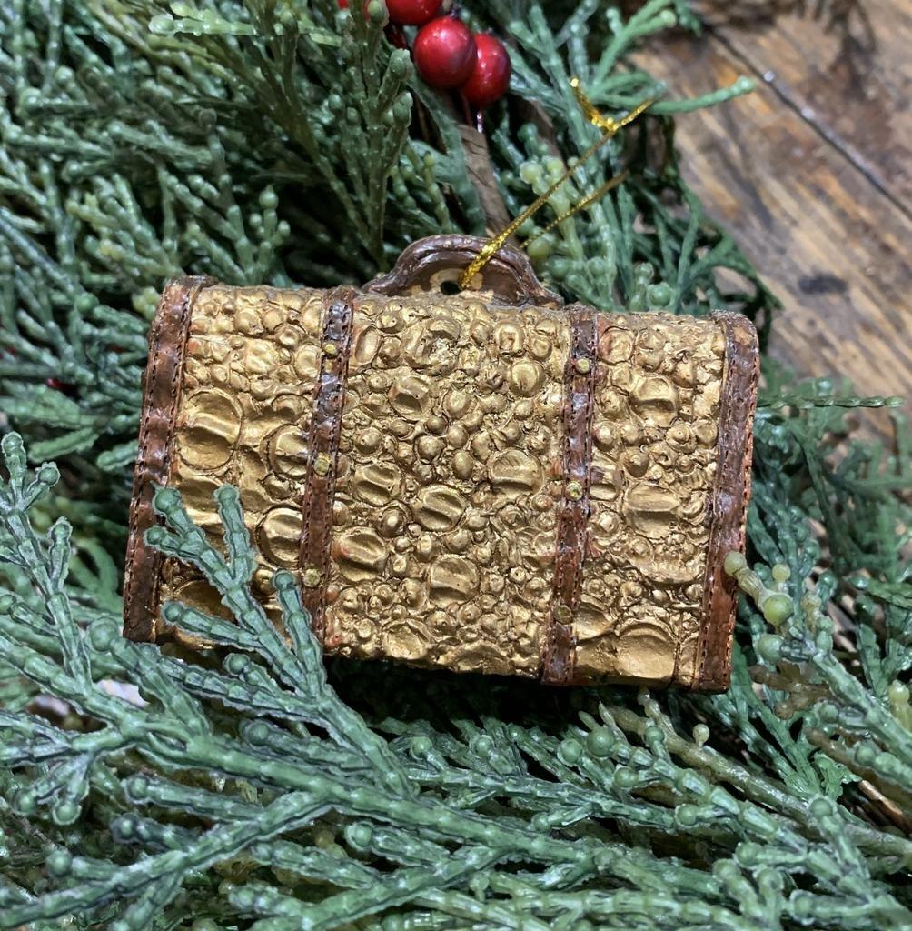 Crocodile Suitcase Ornament