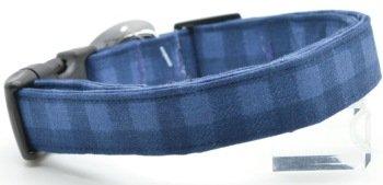 Dog Collar World - Blue Buffalo Plaid