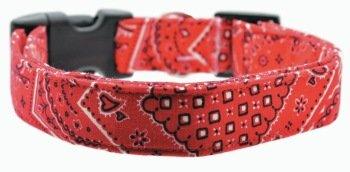 Dog Collar World - Red Bandanna