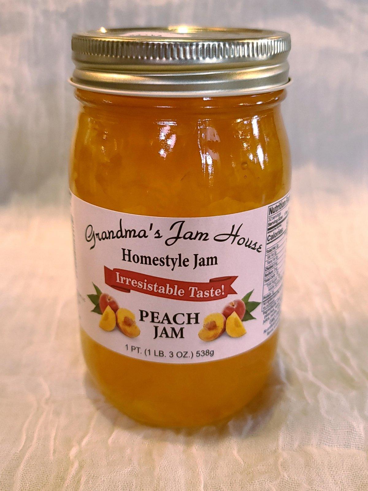 Grandma's Jam House - Peach Jam
