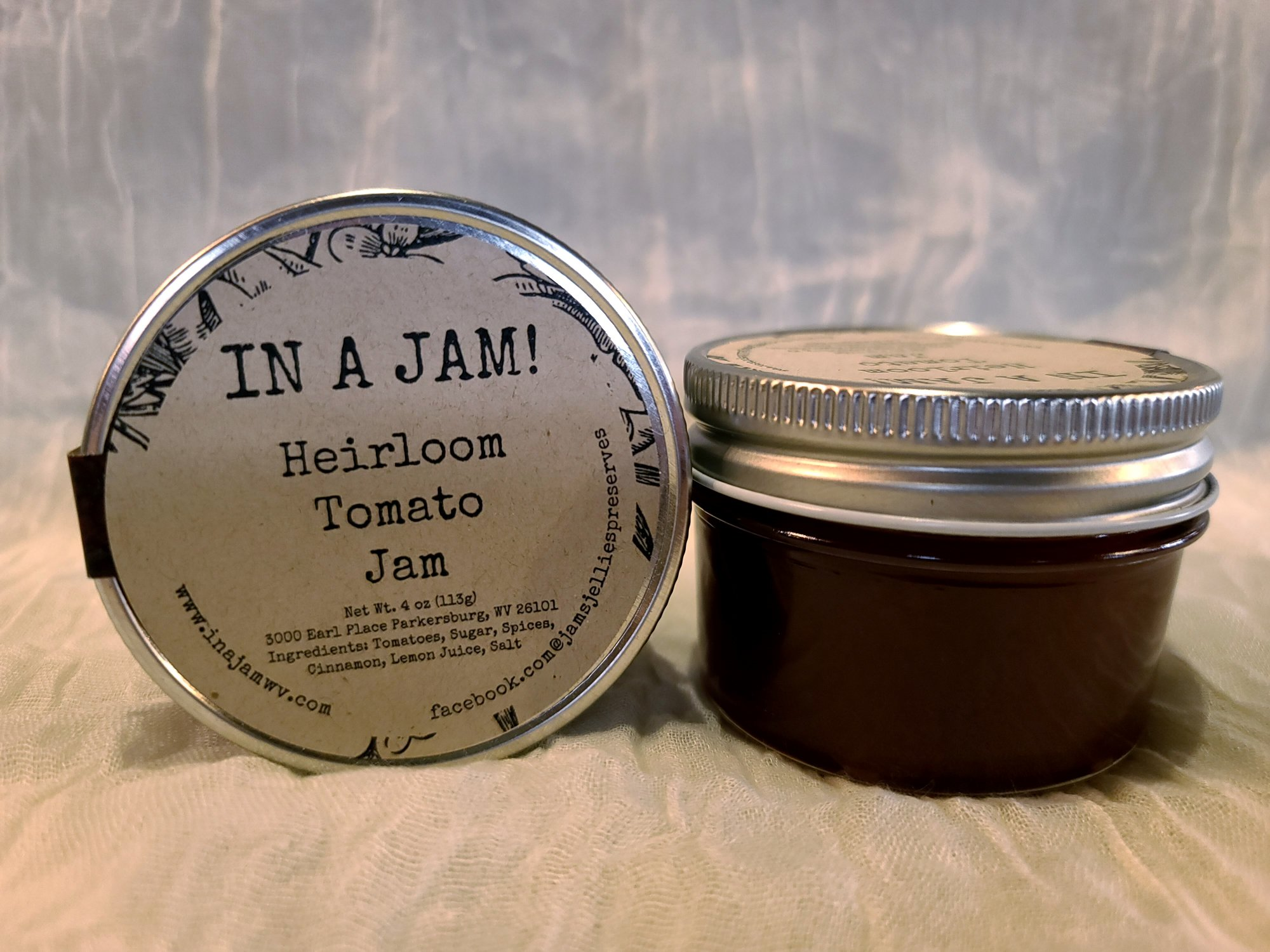 In A Jam -  Heirloom Tomato Jam