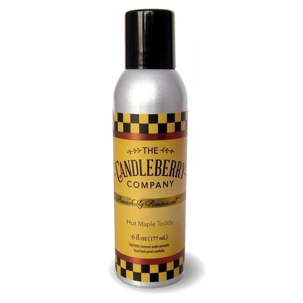Candleberry Hot Maple Toddy Room Spray 6 oz