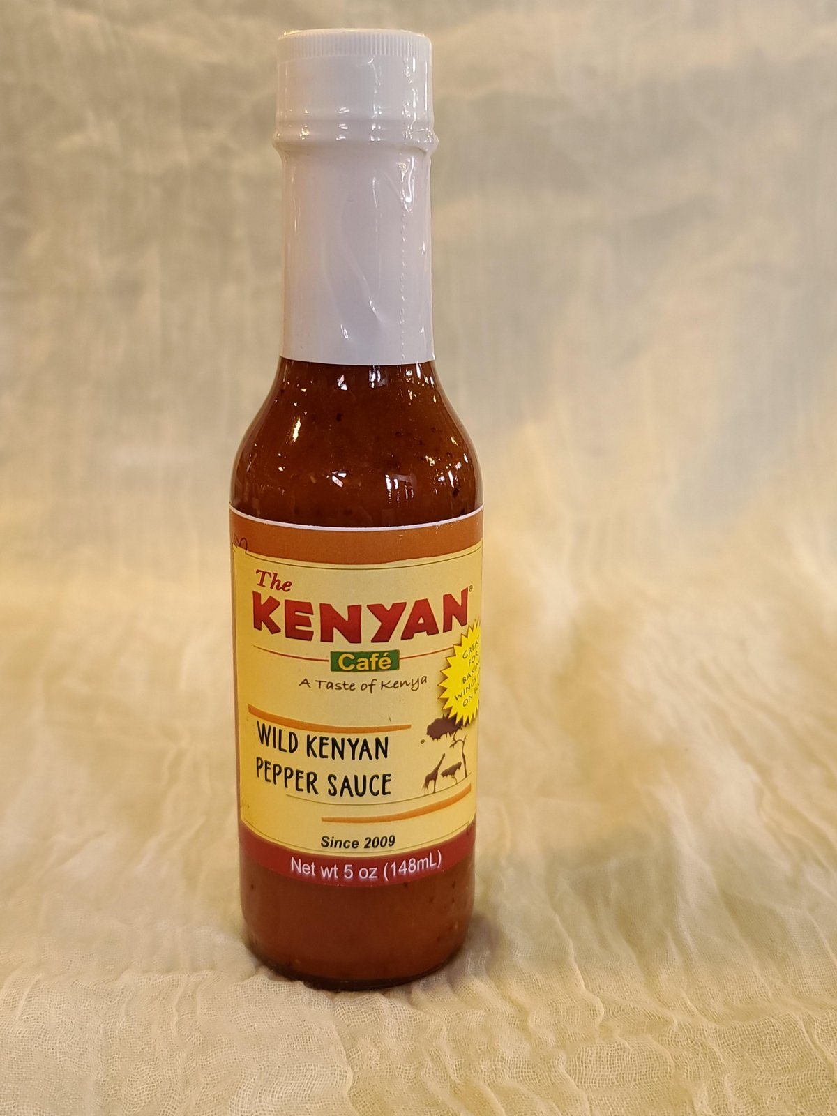 Wild Kenyan Hot Sauce 5 oz