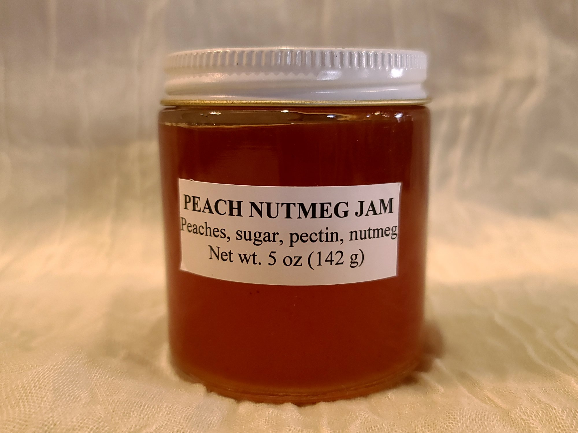 Smoke Camp Peach Nutmeg Jam