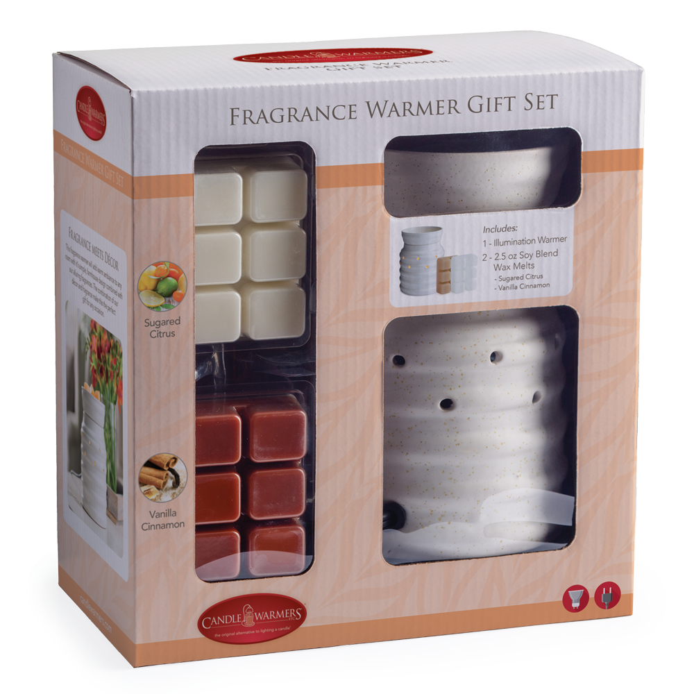 Fragrance Warmer Gift Set