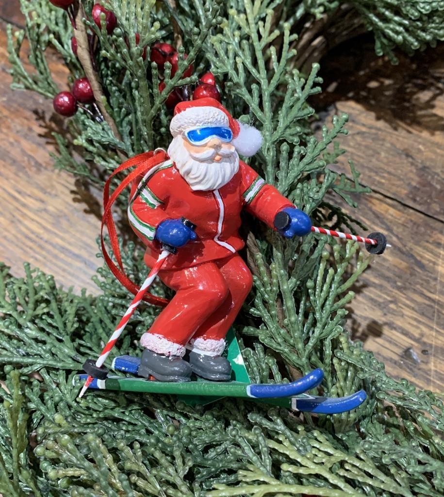 Kurt Adler Ski Santa