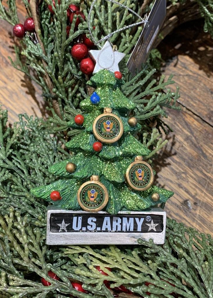 Kurt Adler U.S Army Christmas Tree