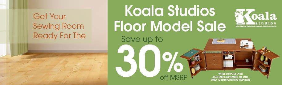 KOALA FLOOR MODEL 30% OFF