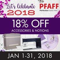 Pfaff Accessories 18% OFF