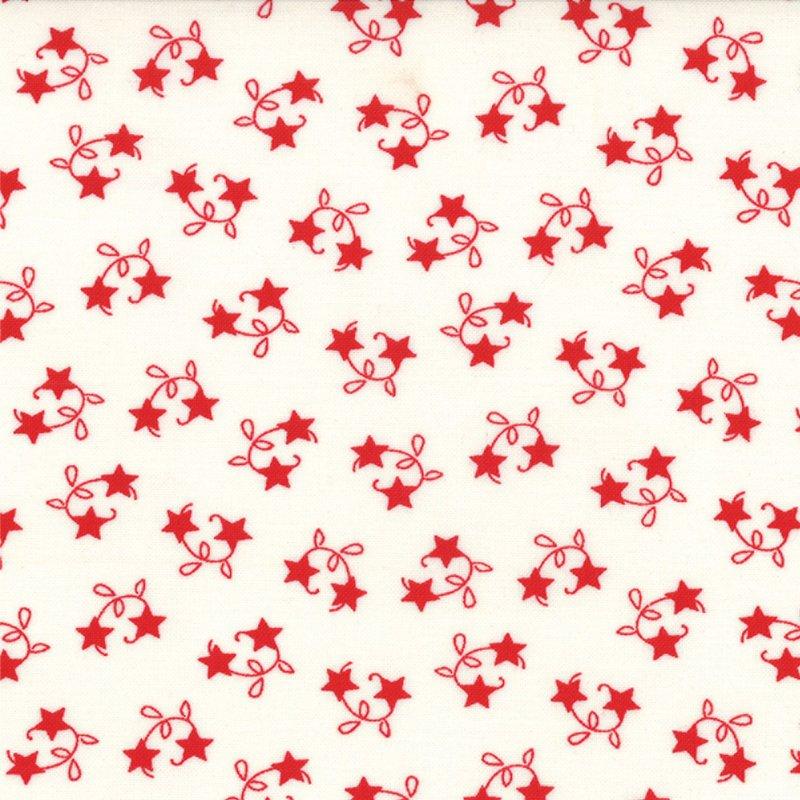 Winter Wonderland  - Tossed Stars -  Snow White #2874 12