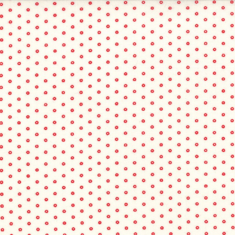 Winter Wonderland  - Polka Circle -  Snow White #2876 12