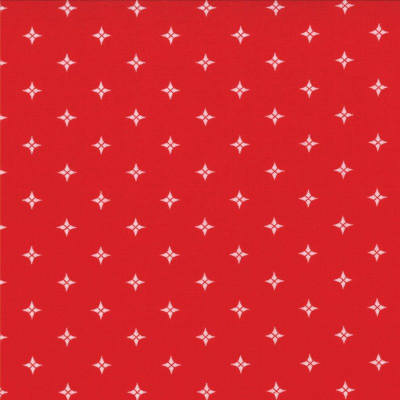 Winter Wonderland  - Starry - Redwork  #2879 18