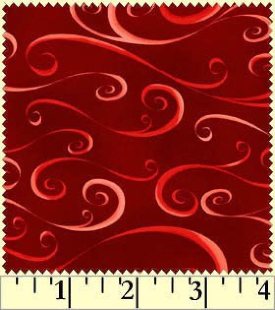 Christmas Classics 2013 Red Swirl #624-R