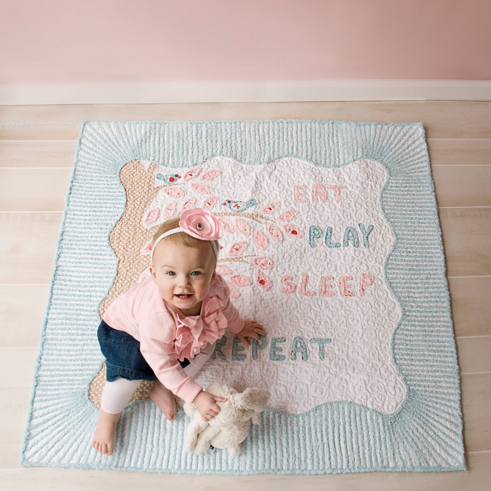 Eat, Play, Sleep, Repeat Quilt Pattern