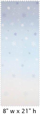Gelato Snowflakes - Snow Blue #12095-A